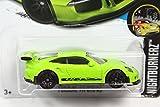 ホットウィール 2017 #117 ポルシェ 911 GT3 RS (991) グリーン [並行輸入品]