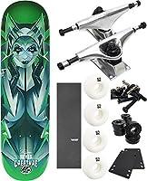 "Creature Skateboards Bad Habitsスケートボード8"" x 31.6"" Complete Skateboard–7項目のバンドル"