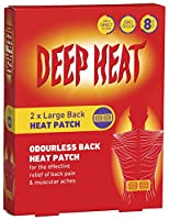 Deep Heat Extra Large Patches x2 by Deep Heat
