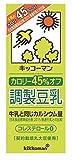 キッコーマン飲料 カロリー45%オフ調製豆乳 200ml×18本