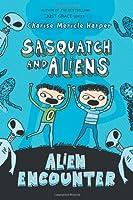 Alien Encounter (Sasquatch and Aliens)