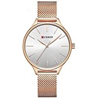 TREEWETO Watch Women Casual Fashion Quartz Wristwatches Creative Design Ladies Watches relogio feminino