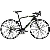 メリダ(MERIDA) ロードバイク RIDE 80 シルクブラック/ダークグレー/グリーン(EK29) AMR008448 44cm