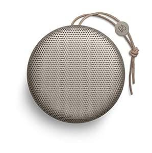 Bang & Olufsen ワイヤレススピーカー BeoPlay A1 360度サウンド 連続再生約24時間 Bluetooth/通話対応 防滴仕様 USB Type-C充電対応 2019年春夏コレクション クレイ(Clay) 高級オーディオブランド 【国内正規品/保証期間2年】
