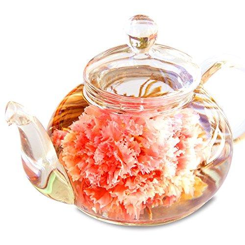 RIMTAE(リムテー) 優雅セット 花咲く 工芸茶10種とガラスティーポット
