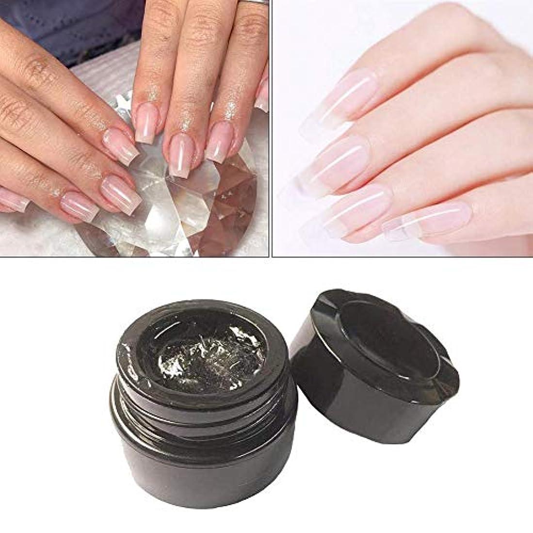 秀でるあごひげ一般的にAnkishi® 釘の延長繊維1-2CMのガラス繊維のゲルの釘の芸術の速い光線療法の延長ゲル