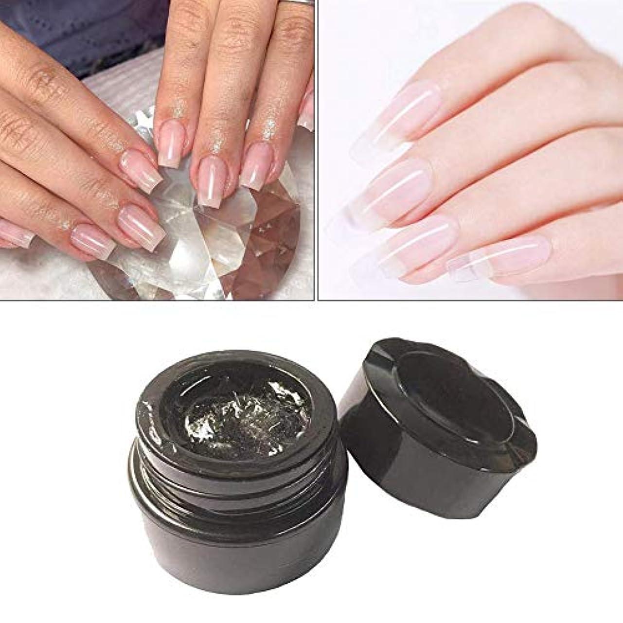 冷笑する石油グラムAnkishi® 釘の延長繊維1-2CMのガラス繊維のゲルの釘の芸術の速い光線療法の延長ゲル