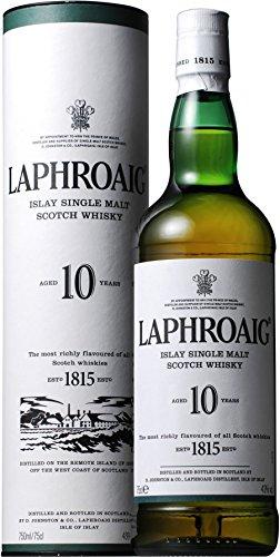 シングルモルトウイスキー ラフロイグ 10年 [ ウイスキー イギリス 750ml ]