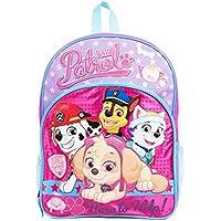 Nickelodeon Paw Patrol Skye & Friends Pink Backpack School Bag for Girls