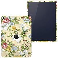 igsticker iPad Pro 12.9 inch インチ 対応 2018年 シール apple アップル アイパッド 専用 A1876 A1895 A1983 A2014 全面スキンシール フル タブレットケース ステッカー 保護シール 008438 フラワー 花 フラワー イエロー 模様