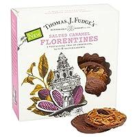 1パックファッジの塩漬けキャラメルフロランタン8 - Fudge's Salted Caramel Florentines 8 per pack [並行輸入品]