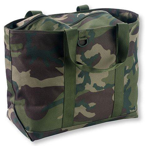 日本未入荷Hunter's Tote Bag, Zip-Top woodland Camo Mサイズ エルエルビーン