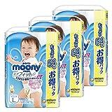 【Amazon.co.jp】【ケース販売】ムーニーマン パンツ L (9~14kg) 男の子 エアフィット 162枚 (54枚×3)