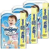 尤妮佳(Moony Man)婴儿内裤 L (9~14kg) 男孩子 充气式婴儿裤, , ,