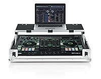 Gator Cases g-tourdspdj808Road Case For Roland DJコントローラwith Slidingノートパソコンプラットフォーム