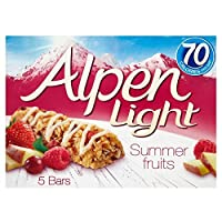 Alpen Light Bars Summer Fruits (5x19g) アルペンライトバー夏の果物( 5X19G )