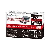 CFD販売 SSD 480GB 2.5inch TOSHIBA製 内蔵型 2.5→3.5inch変換マウンタ付 SATA6Gbps CSSD-S6T480NMG1Q