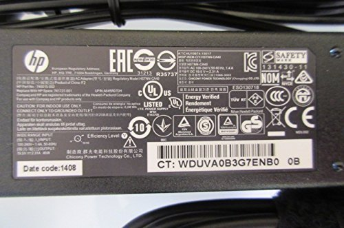 AC Power Adapter Charger 65W for HP Pavilion 15-n Series 15-n225 New Genuine [] [並行輸入品]