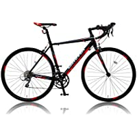 CANOVER(カノーバー)  ロードバイク 700C シマノ16段変速 CAR-011(ZENOS) 軽量クランク アルミフレーム フロントLEDライト付 [メーカー保証1年]