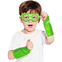 [エバーファン]Everfan Lime Green Superhero Eye Mask and Powerbands 121302 [並行輸入品]