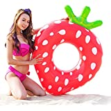 水浴び象さん 100サイズ 浮き輪 イチゴ フロート 苺 strawberry ストロベリー (苺 100#)