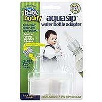 Baby Buddy 00240AquaSip水ボトルアダプタ、2カウント