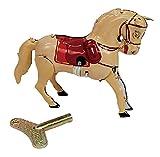おもちゃ ホース ブリキ 9.5×7.5×2.5cm 983