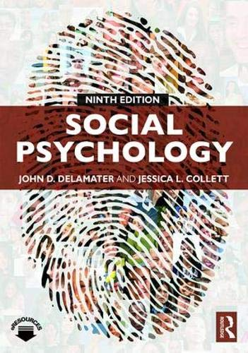 Download Social Psychology 0813350689