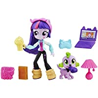 [マイリトルポニー]My Little Pony Equestria Girls My Little Pony Equestria Minis Twilight Sparkle Slumber Party Set B6359AS0 [並行輸入品]