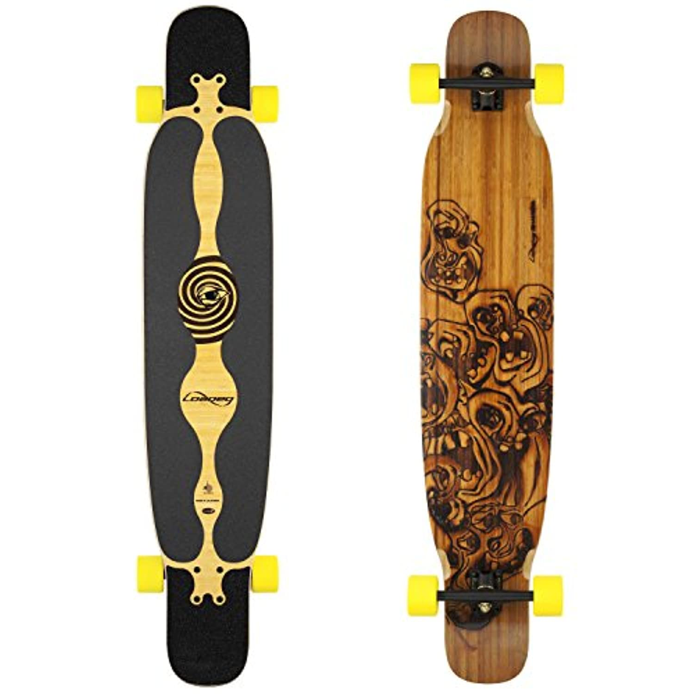Loaded Bhangra Flex 2 Complete Longboard Skateboard W/ Paris Trucks, Orangatang Moronga Wheels by Loaded