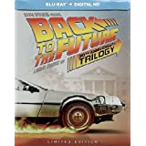 BACK TO THE FUTURE 30th Anniversary Complete Trilogy Steelbook (4-disc Blu-ray + Digital HD) [Target Exclusive Steelbook