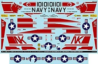 A-48044 アシタのデカール 1/48 F-14A VF-1 ウルフパック「ザ・ファースト・トムキャット」 [改訂版]