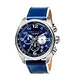 [ペリー・エリス]Perry Ellis 腕時計 GT クォーツ 44 mmケース 本革バンド 01003-01 メンズ 【正規輸入品】