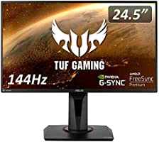 ASUS TUF Gaming ゲーミングモニター 24.5インチ Full HD/IPS/1ms/144Hz/HDMI×2ポート/DisplayPort/Adaptive-sync/ELMB VG259Q