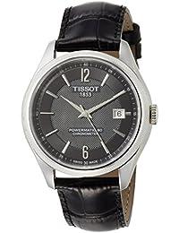 [ティソ] TISSOT 腕時計 バラード オートマティック COSC パワーマティック80 ブラック文字盤レザー T1084081605700 メンズ 【正規輸入品】