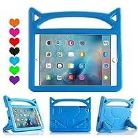 iPad Pro 9.7ケース, iPad Air 2ケース、roasanスーパー保護と安全な信頼性耐衝撃Eva素材内蔵スクリーンプロテクター付きPerfect for Kids IPad Pro 9.7&IPad Air 2 ブルー