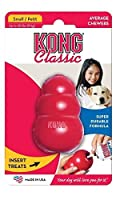 Kong Small Rubber Treat Dispenser - Worlds Best Dog Toy Red Color by Pet Chew Toys [並行輸入品]