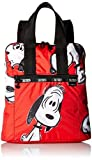 LeSportsac LeSportsac Women's X Peanuts Everyday Backpack Snoopy Fun Red [並行輸入品]