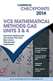 Cover of Cambridge Checkpoints VCE Mathematical Methods CAS Units 3 and 4 2014