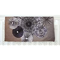 KESS InHouse Heidi Jennings Shadows Dark Circles Fleece Baby Blanket 40 x 30 [並行輸入品]