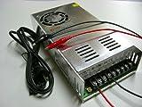 AC-DCコンバーター100V→24V直流安定化電源・変換器+配線付