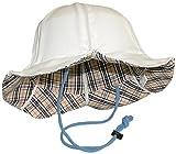 ヒヤリ安心ハット 【折りたたみ式ヘルメット型帽子】 男女兼用 大人用 ホワイト