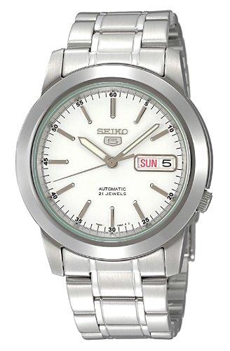 [セイコー]SEIKO 腕時計 SEIKO 5(セイコー ファイブ) オートマチック デイデイト 逆輸入 海外モデル 日本製 SNKE49JC メンズ 【逆輸入品】