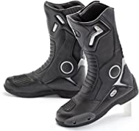 Joe Rocket Ballistic TouringメンズブラックレザーMotorcycle Boot–7 Size 12 ブラック 1377-0012