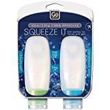 Go-Travel Squeezy Travel Bottle, Transparent, 660