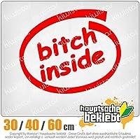 KIWISTAR - Bitch inside bitch 15色 - ネオン+クロム! ステッカービニールオートバイ