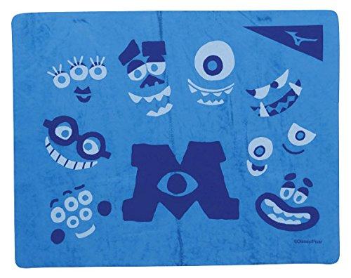 MIZUNO(ミズノ) スイムタオル ディズニー モンスターズインク 高吸水 セームタオル 水泳 プール N2JY808027  ブルー