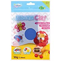 I-Silicone Silicone Clay Refill Pack, Blue