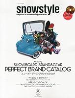 snowstyle (スノースタイル) 2012年 08月号 [雑誌]