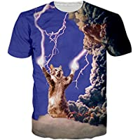 NEWISTAR Tシャツ メンズ 3Dプリント デザイン ファション カジュアル 夏半袖Tシャツ 男女兼用 大きなサイズ有り 全39柄展開